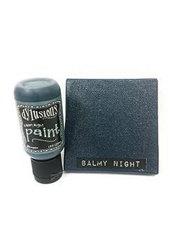 Dylusions Flip Cap Paint Balmy Night, 1oz Paint Dylusions