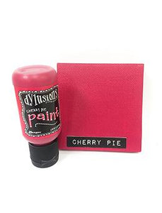 Dylusions Flip Cap Paint Cherry Pie, 1oz Paint Dylusions