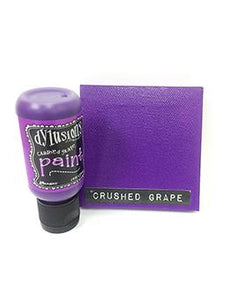 Dylusions Flip Cap Paint Crushed Grape, 1oz Paint Dylusions