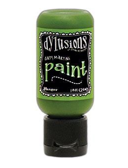Dylusions Flip Cap Paint Dirty Martini, 1oz Paint Dylusions