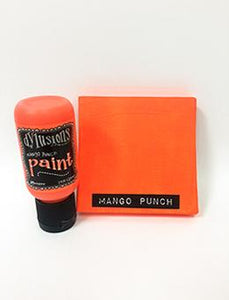 Dylusions Flip Cap Paint Mango Punch, 1oz Paint Dylusions