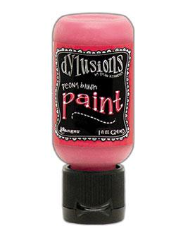 Dylusions Flip Cap Paint Peony Blush, 1oz Paint Dylusions