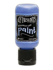 Dylusions Flip Cap Paint Periwinkle Blue, 1oz Paint Dylusions