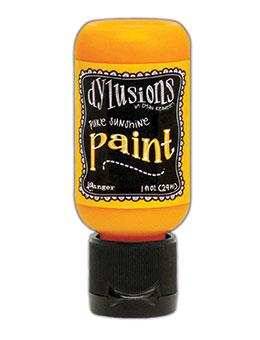 Dylusions Flip Cap Paint Pure Sunshine, 1oz Paint Dylusions