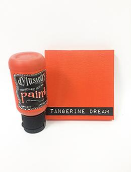 Dylusions Flip Cap Paint Tangerine Dream, 1oz Paint Dylusions