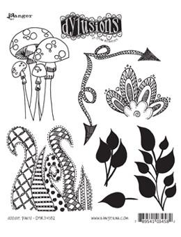 Dylusions Cling Mount Stamps Doodle Parts Stamps Dylusions