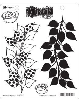 Dylusions Cling Mount Stamps Branching Out Stamps Dylusions