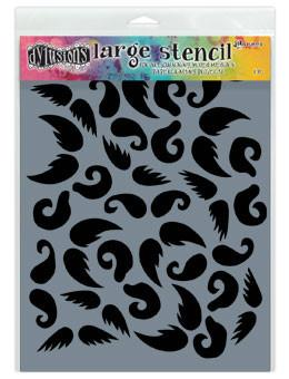 Dylusions Stencils Stash of 'Tache Stencil Dylusions Large 9 x 12 Inches