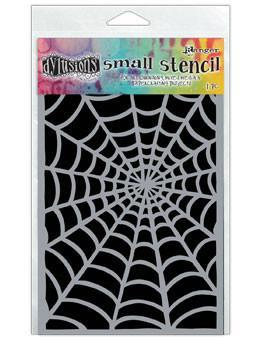 Dylusions Stencils Cobwebs Stencil Dylusions Small 5 x 8 Inches