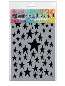 Dylusions Stencils Starstruck Stencil Dylusions Small