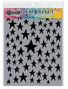 Dylusions Stencils Starstruck Stencil Dylusions Large