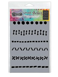 Dylusions Stencils A Stitch in Time Stencil Dylusions Small 5 x 8