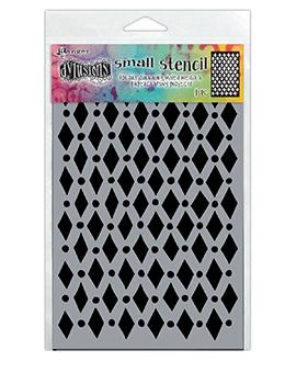 Dylusions Stencils Court Jester Stencil Dylusions Small 5 x 8