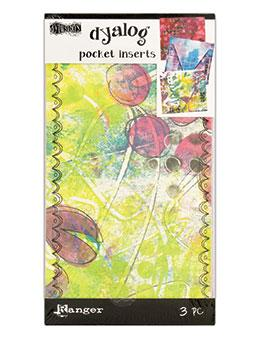 NEW! Dylusions Dyalog Pocket Inserts