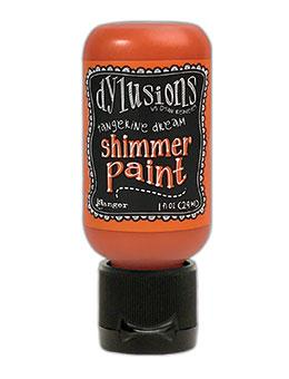 Dylusions Shimmer Paint Tangerine Dream, 1oz Paint Dylusions