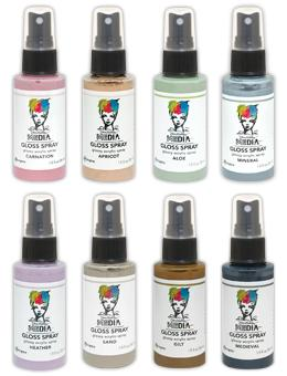 Dina Wakley Media Gloss Spray Bundle 2 Bundles Dina Wakley Media
