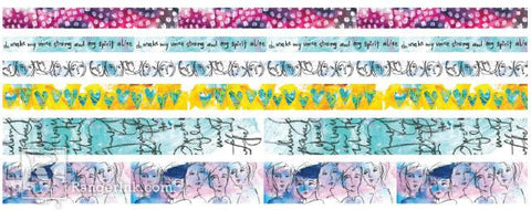 NEW! Dina Wakley Media Washi Tape #1