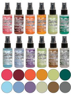 Tim Holtz Distress® Oxide® Spray Set #5 Kits Distress