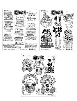 Dylusions Stamp Bundle 3pk Bundles Dylusions