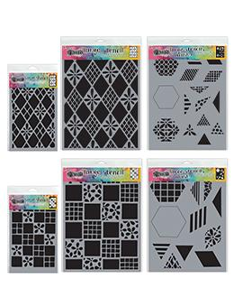 Dylusions Stencil Bundle Shapes Bundles Dylusions