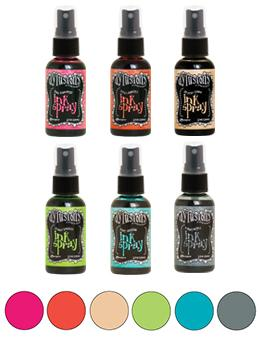 Dylusions Ink Spray Set 6pk Bundles Dylusions