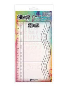 "Dylusions Journaling Block Small, 5"" x 9"""