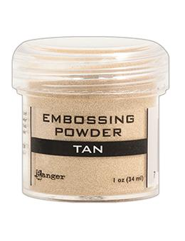 Embossing Powder Tan, 1oz Jar