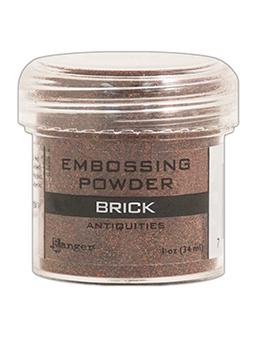 Embossing Powder Brick, 1oz Jar Embossing Powders Ranger Brand