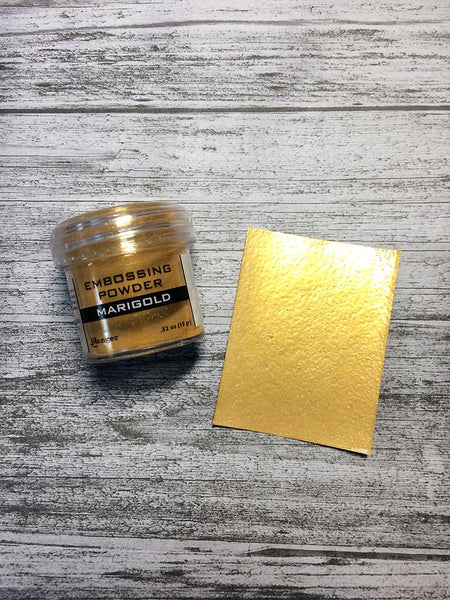 Embossing Powder Marigold Metallic Powders Ranger Ink
