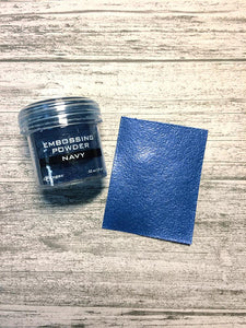 Embossing Powder Navy Metallic Powders Ranger Ink