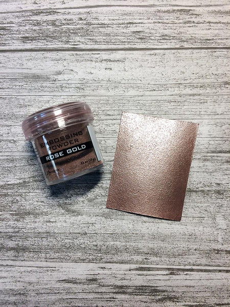 Embossing Powder Rose Gold Metallic Powders Ranger Ink