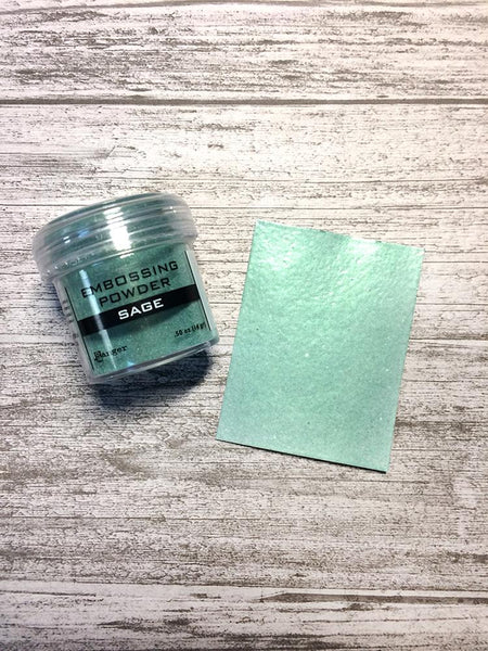 Embossing Powder Sage Metallic Powders Ranger Ink