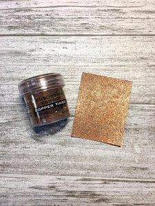 Embossing Powder Copper Tinsel Powders Ranger Ink