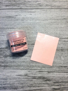 Embossing Powders Blush Pearl Powders Ranger Ink