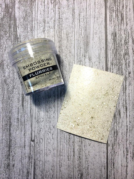Embossing Speckle Powder Flurries, 1oz Powders Ranger Ink