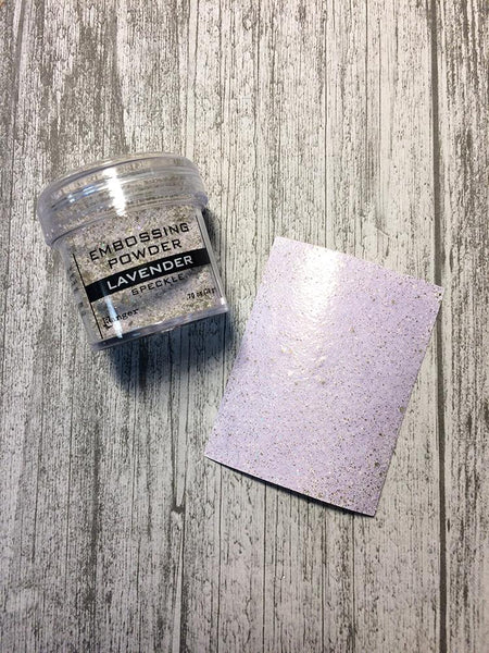 Embossing Speckle Powder Lavender, 1oz Powders Ranger Ink