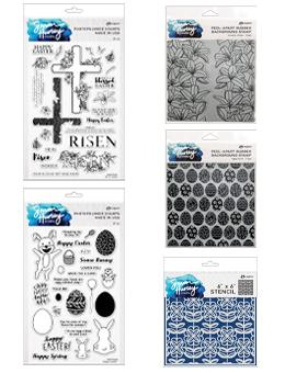 Simon Hurley create. Easter Stamp & Stencil Bundle Bundles Simon Hurley
