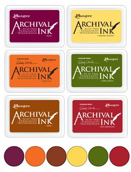 Archival Ink Pad Fall Bundle! BUNDLE Archival Ink
