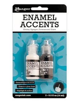 Ranger Enamel Accents 2pc Set Enamel Accents Ranger Brand