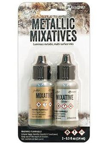Tim Holtz Alcohol Ink Mixative Gold & Silver Alcohol Ink Tim Holtz