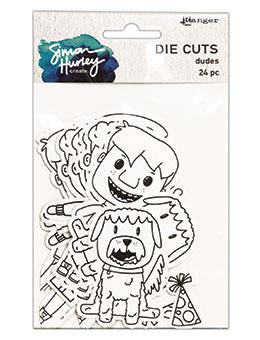 Simon Hurley create. Dudes Die Cuts Cutting Dies Simon Hurley