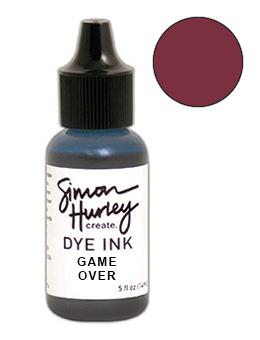 Simon Hurley create. Dye Ink Re-Inker Game Over Ink Simon Hurley