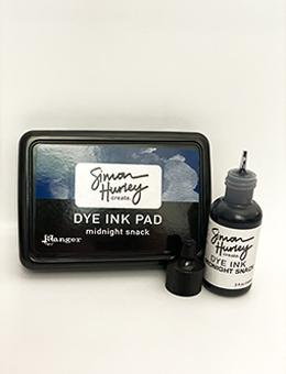 Simon Hurley create. Dye Ink Re-Inker Midnight Snack Ink Simon Hurley