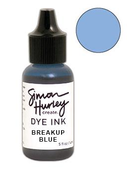 Simon Hurley create. Dye Ink Re-Inker Breakup Blue Ink Simon Hurley