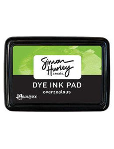 NEW! Simon Hurley create. Dye Ink Pad Overzealous