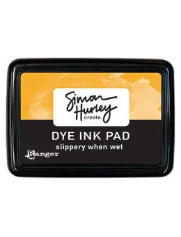 NEW! Simon Hurley create. Dye Ink Pad Slippery When Wet