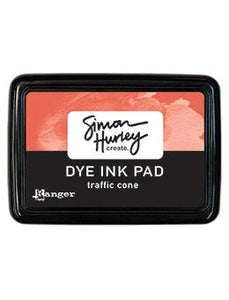 NEW! Simon Hurley create. Dye Ink Pad Traffic Cone
