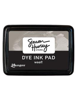 NEW! Simon Hurley create. Dye Ink Pad Woof!