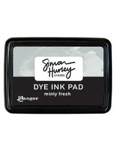 Simon Hurley create. Dye Ink Pad Minty Fresh Ink Pad Simon Hurley