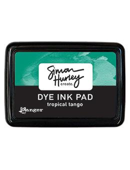 Simon Hurley create. Dye Ink Pad Tropical Tango Ink Pad Simon Hurley